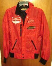 BUDWEISER RACING Porsche 962 red XS jacket Jochen Mass patch Carerra Design '80s