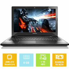 "15.6"" Lenovo IdeaPad Z50-75, AMD A10 up to 3.20GHz, 8GB, 1TB, Radeon, Laptop"