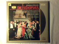 CARLOS KLEIBER Strauss: Die fledermaus 2 laserdisc laser disc DGG