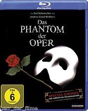 DAS PHANTOM DER OPER (Gerard Butler, Emmy Rossum) Blu-ray Disc NEU+OVP