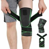 Knee Support Brace Strap Compression Sleeve Sports Protector Adjustable Ligament
