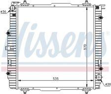 Motorkühler Wasserkühler NISSENS 62599A
