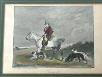 Grafik Pferd mit Reiter -R55