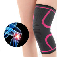 Knee Sleeve Compression Brace Support For Sport Joint Pain Arthritis Relief Gym