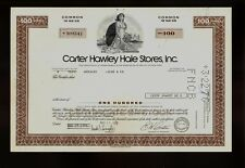 CHH Carter Hawley Hale Stores Inc Los Angeles CA Retailer Chain old stock 1975