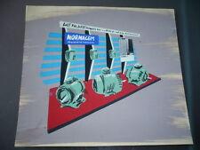 DESSIN ARCHITECTURE D'INTERIEUR VINTAGE 1960  GOUACHE STAND NORMACEM
