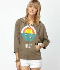 Roxy Harmony Sweaters Hoodie Army Brown