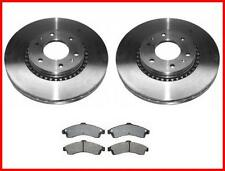 2002-2005 Trailblazer Envoy Front Brake Rotors & Pads