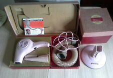 Vintage boxed Pifco pink princess Hairdryer with boxed stand & accessories