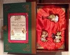 Band of Angels Pocket Dragons Real Musgrave Three Christmas Ornaments New Le