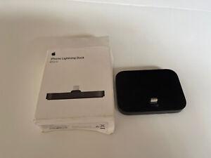 Genuine APPLE Lightning Dock Station iPhone 5 6 7 8 11 Pro X XS XR 12 Pro Black