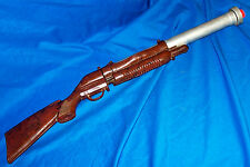 Vintage Toy Rifle Knickerbocker Plastic Co. Kid's Gun Shotgun Cowboy Western Old