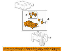 GM OEM Fuse Relay-Junction Block 19210438