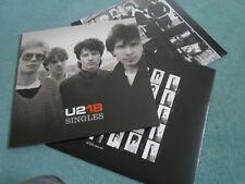 U2 U218 SINGLES BEAUTIFUL DAY VERTIGO ELEVATION BONO EDGE NEW DOUBLE