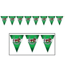 HORSE RACING JOCKEY SPORTS PARTY BUNTING FLAG BANNER FOR BIRTHDAY PARTIES!