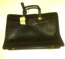 Hartmann LOMBARDO Leather Attache Slim Line Briefcase Rare, Vintage/NOS