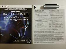 Star Wars Battlefront 2 Elite Trooper Deluxe Edition Upgrade