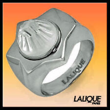 LALIQUE ASTRID 6 size T 53 jewelry lalique Star of David Sterling Ring 774550