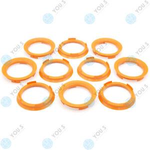 10 X You.S Centering Ring 70,4 - 58,1 MM For Rod Alfa Romeo Citroen Fiat Lancia