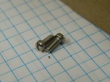 "#3-48 x 1/4"" SS Machine Screw Slotted Fillister Head Pack of 50"