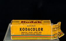 Kodak KODACOLOR Negative Color Safety Film // C 120, Exp. 10/56