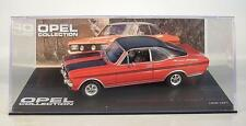 OPEL Collection 1/43 Opel Commodore A coupé GS/E 1970 - 1971 en plexi BOX #6384