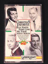 Christmas Favorites Cassette Laser Light Holiday Music Various Artists 1992