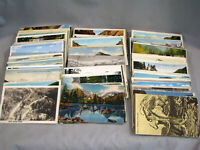 Group of 200+ OLD COLORADO POSTCARDS