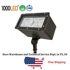 1000LED 70W LED Flood Light Outdoor Waterproof Knuckle Lighting Daylight 5000K