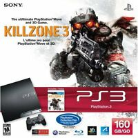 Sony PlayStation 3 160GB Killzone 3 Bundle PS3 Very Good 3Z
