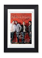 GAVIN & STACEY CAST SIGNED POSTER TV SERIES SEASON PRINT PHOTO AUTOGRAPH GIFT