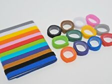 Welpen- / Kittenhalsbänder Welpenkennzeichnungsbänder - 12 Farben - 3 Längen