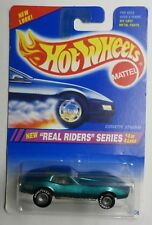 Hot Wheels 1995 Real Riders Series Corvette Stingray New in Pack 13308 1:64