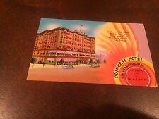 Vintage postcard, Princess Hotel, Atlantic City, New Jersey