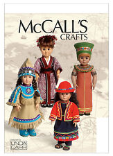 RETIRED SEWING PATTERN! MAKE INDIAN~JAPANESE DOLL CLOTHES~FIT AMERICAN GIRL KAYA