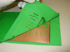 TRF Foil Green toner reactive foil for sealing pcb boards Green 240mm x 4570mm