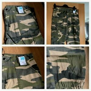 Ladies PRIMARK khaki combat trousers = sizes 6,8,10,12,14 - New with tags