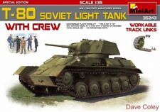 MiniArt 35243 1:35th scale T-80 Soviet Light Tank with Crew Special Edition