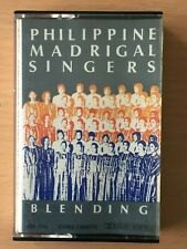 PHILIPPINE MADRIGAL SINGERS Blending PHILIPPINES OPM Cassette Tape