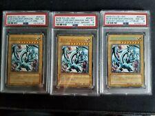 2009 YU-GI-OH! Blue Eyes White Dragon Duelist League 2010 PSA NM-MT 8 collection