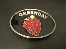 GREENDAY Heart Grenade Logo Rock Music New BELT BUCKLE New Metal Pewter