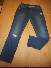 *Levi´s 779* Röhrenjeans Gr.13 (36/38) long*Used-Look*  Baumwollmischung*