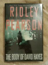 The Body of David Hayes Ridley Pearson SIGNED 2004 HCDJ 1st Edition 1st Print