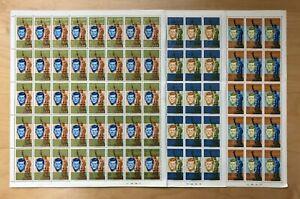UAE - Sharjah 1964 - Michelle# 22-24 - John Kennedy - Set of 3 Sheets OVPT - MNH