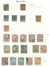 RHODESIA - Selection on 3 Album Pages - Mainly VFU -Values to 5/- - PHOTOS
