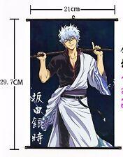 Hot Anime Gintama Wall Poster Scroll Home Decor Cosplay 654