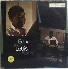 ELLA FITZGERALD LOUIS ARMSTRONG Ella and Louis Again LP Album MONO 33 Vinyl VG