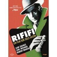 RIFIFI DVD KRIMI MIT JEAN SERVAIS NEU