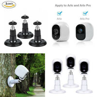 3 Pack Security Wall Indoor Outdoor Mount Bracket Holder for Arlo Pro Camera