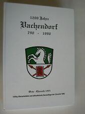 1200 Jahre Vachendorf Bavarica Ortschronik Geschichte Heimatbuch Traunstein